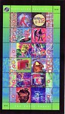1998 Australian Rock & Roll Early Years Sheetlet Of 12 Stamps Mint Never Hinged
