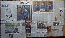 American Buffalo - Theatre clippings/reviews & leaflet flyer - Damian Lewis