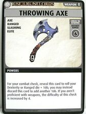 Pathfinder Adventure Card Game - 1x Throwing Axe - Rise of the Runelords