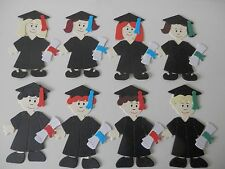sizzix graduation dolls,8 assembled  topper die cuts