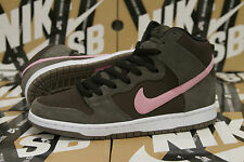 Nike Dunk High Pro SB Sz 11 SMOKE ION PINK BAROQUE BROWN Stussy DS 305050 262