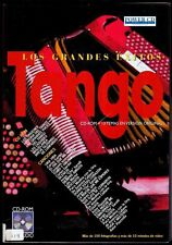 TANGO - Los Grandes Exitos - CD Rom Audio - Power CD - 1997 - Fotografias Video