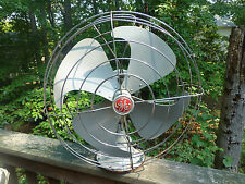 GE Vortalex House Home Industrial Vintage Electrical Fan Unique Blades F12V163