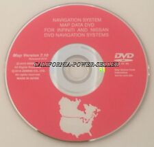 7.10 Update 2006 2007 2008 Infiniti FX35 FX45 FX Navigation DVD Map US Canada CD