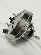 "1967 1968 1969 1970 Ford Mustang Fairlane Mercury Cougar 9"" Chrome Brake Booster"