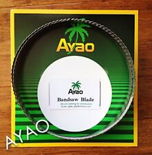 Ayao band saw blade for butcher meat 1x 73''(1854mm) Stainless Steel no rust