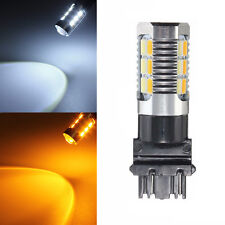 T25 3157 5730 22SMD Dual Color Switchback Turn Signal LED Light Bulb White/Amber