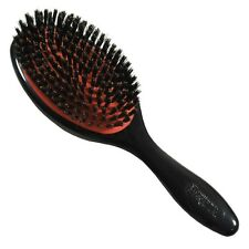 D81L Cushion Large Boar Bristle With Nylon Quill Denman Grooming Brush