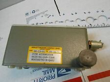HP355E VHF ATTENUATOR 0.5 WATT 50Ω DC -1000 MHZ  NEW OLD STOCK WITH CONNECTOR