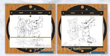 Disney LE 500 Pin STEAMBOAT WILLIE AT ANIMATOR'S DESK Draw Art B&W GenEARation D