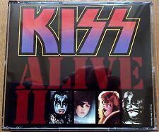 KISS Alive II 2 CD Casablanca Original Master Germany Press Near Mint Fatbox