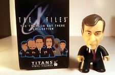 "Titans The X Files SMOKING MAN 2/20 3"" Vinyl Action Figure Still New Just Opened"