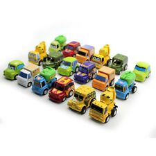 6X Mini Cars Trucks Model Pull Back Vehicle For Baby Kid Children Toys