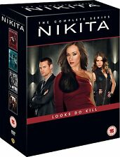 Nikita Complete Season 1, 2, 3 & 4 DVD Box Set New Sealed