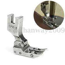 High Shank Roller Foot For Singer Juki Industrial PVC Leather Fit Sewing Machine