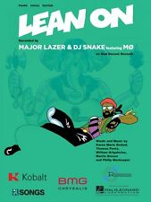 Lean On Sheet Music Piano Vocal DJ Snake Major Lazer NEW 000151725