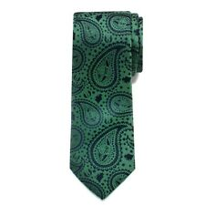 Official Star Wars Yoda Paisley Big Boys' Silk Tie Green Free Ship Ages 6-12