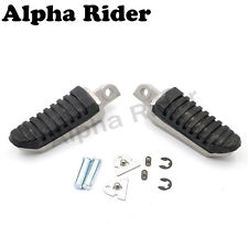 Foot Pegs Rear Footrest for Suzuki GSR400 600 06-11 SV1000 03-07 V-Strom DL650