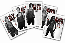 THE WALKING DEAD - SET OF 5 - A4 POSTER PRINTS # 2
