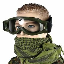 Bolle Army Defender Tactical Safety Goggles ballistic RTV shoot paintball helmet