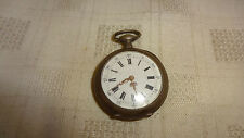 Antique French Silver Pocket / Fob Watch - Rocher A Thiberville - A/F