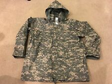 ECWCS GEN II Cold Wet Weather Parka Universal ACU Camo Size X-Large-Regular NWT