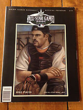 2001 Baseball All-Star Program SAFECO FIELD SEATTLE MARINERS