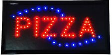 Animated Motion LED Restaurant BBQ Club Pizza SIGN On/Off Switch Open Light Neon