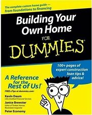 Building Your Own Home For Dummies by Kevin Daum, (Paperback), For Dummies , New