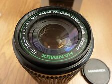 Hanimex HMC Macro Zoom 70-210mm f4.5-5.6 Pentax PK-A/R fit. Boxed Made in Japan