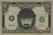 BREAKING BAD - HEISENBERG MILLION DOLLAR BILL POSTER (91x61cm)  NEW WALL ART