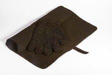 Mateque Black Heat proof Travel Mat & Heat Resistant Glove For use with GHD,C9
