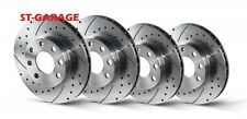 VW GOLF 4 Front Brake Discs/Rear SLOTTED/PERFORATED 256/239
