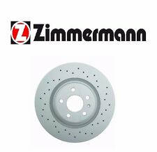Front Brake Rotor Zimmermann Sport 100335652 For: Audi A4 A5 A6 A7 Quattro S4 Q5