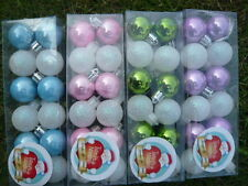 48PCS Plastic Balls Christmas Tree Decoration Home Supplies 3cm