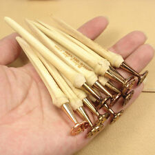 1Pcs New Bamboo Copper Smoking Tobacco Pipe Stick Tamper Pick 2in1