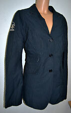 LA MARTINA  Blazer Polo JACKE Gr 46 Navy Blu Stehkragen Jacket 499,- EDEL D-1843