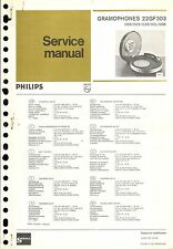 Philips Service Manual für 22 GF 303