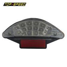 Clear Lens 16 LED Tail Light Motorcycle Reflector For BMW F650 Dakar  R1200 GS