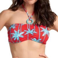 Brand New Freya Swim South Pacific Bandeau Bikini Top 3551 Red VARIOUS SIZES