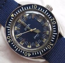 Omega Seamaster 120 Ref. 166.073 Automatic Date mens wristwatch Steel case