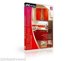 Kitchen Designer Arcon 3D software 2D/3D PC DVD-ROM NEW- WIN 7/8