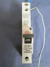 WYLEX NSBS40/1 C40 AMP 30mA RCBO