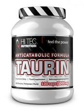 Hi-Tec Nutrition TAURIN 100caps. Taurine New Strong Formula - Free shipping !