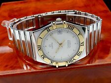 OMEGA CONSTELLATION CHRONOM. Cal. 1111 Automatic Herren Uhr in St./18K 750 Gold