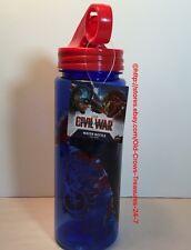 Marvel Captain America Civil War Water Bottle, NEW