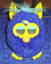 FURBY  Interactive Purple Blue Plush Pet Toy Hasbro Electronic, Digital Eyes