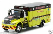 Greenlight 1/64 International Durastar Ambulance Hillsborough County Fire Rescue