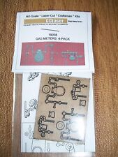 GC Laser HO Scale Gas Meters 4 pack Kit #19038  Bob The Train Guy
