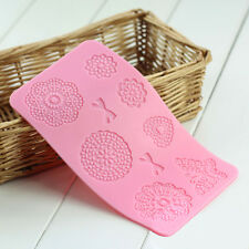 Kitchen Craft Silicone Cake Lace Decorati Icing Mats Flower Butterfly Mold Mould